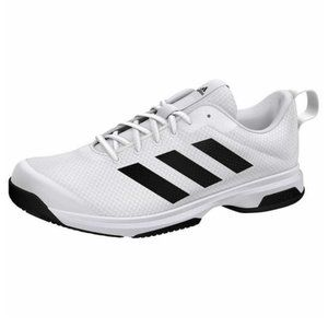 ADIDAS White/Black Game Athletic Sneakers Size 12